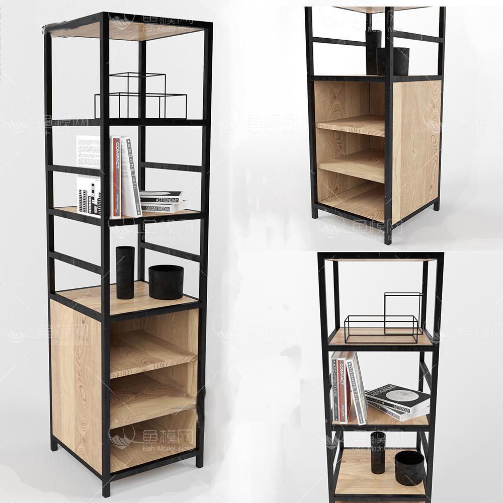 工业风格装饰柜3d模型