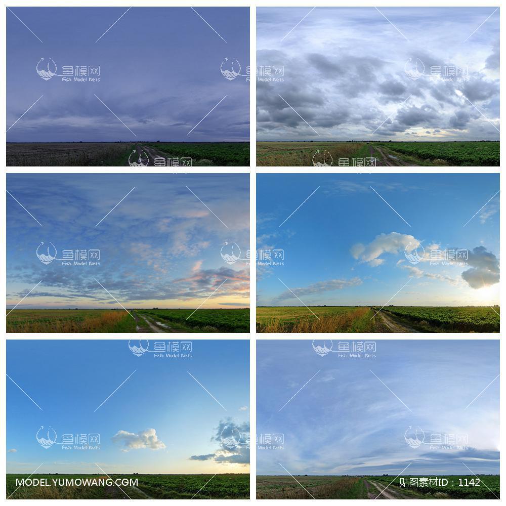 全景素材720vr全景补天素材一万五大图,贴图id:1142