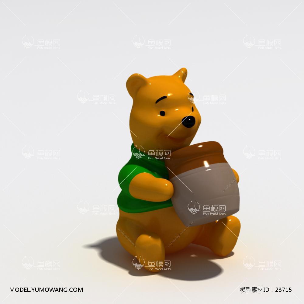 装饰类陈设饰品雕塑动物石膏雕塑模型 (19),模型id:23715