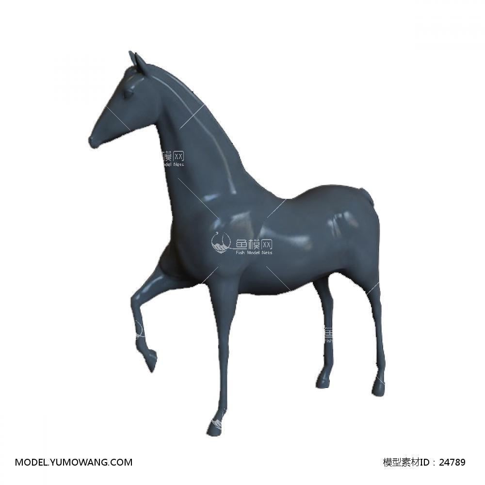 陈设饰品 雕塑 Acc_Sta_0083D模型下载-[ID]24789