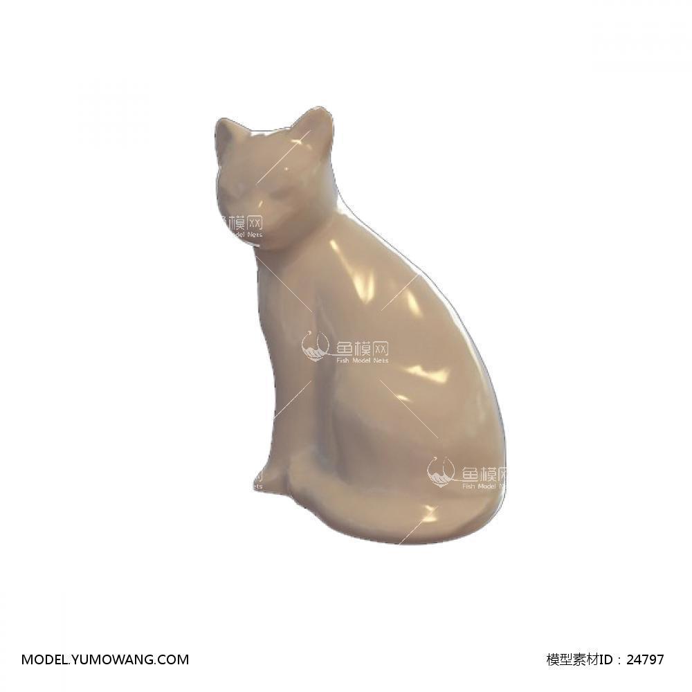 陈设饰品 雕塑 Acc_Sta_0163D模型下载-[ID]24797