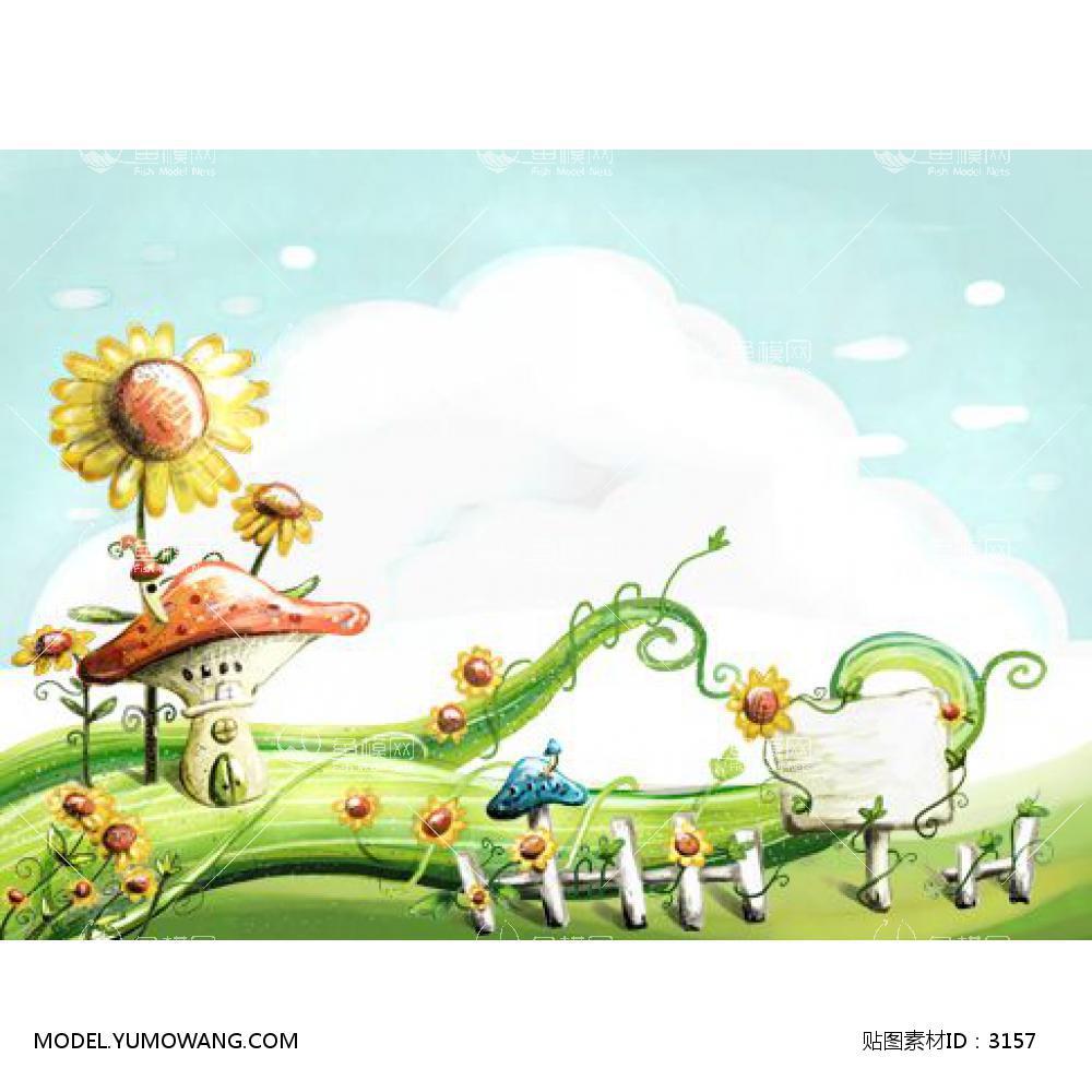 装饰画童趣卡通童趣卡通 (84),贴图id:3157图片