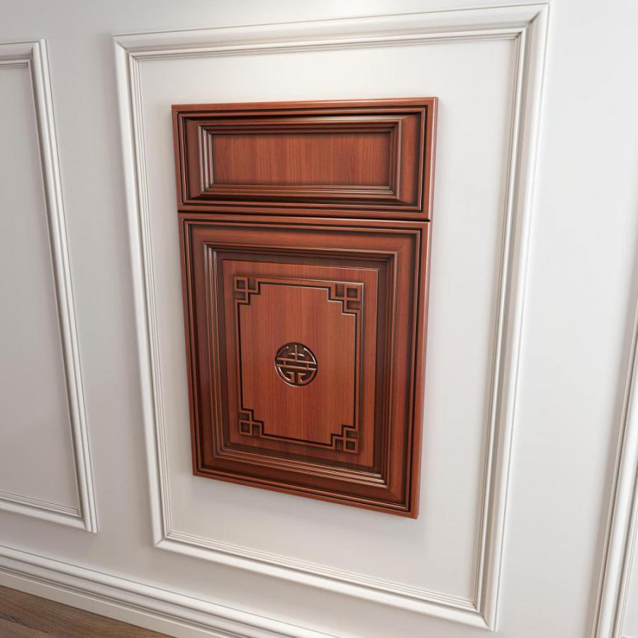橱柜衣柜回型门板门型原创3d模型下载