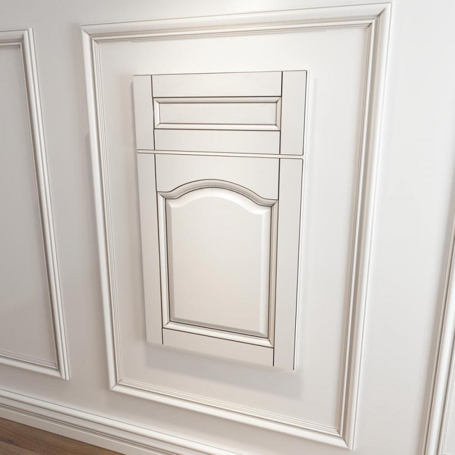 实木橱柜衣柜门板门型3d模型下载