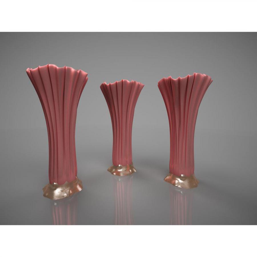 新中式花瓶摆件3d模型下载