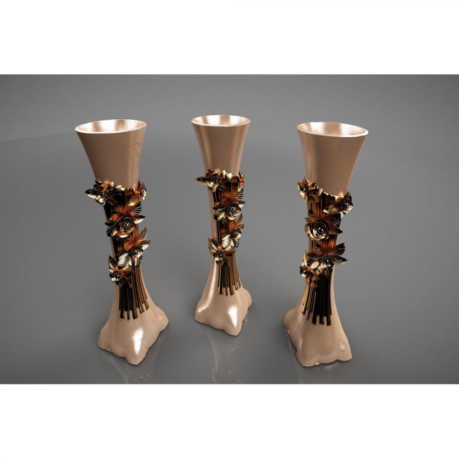 新中式花瓶艺术摆件3d模型下载