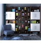 北欧书柜单椅组合3d模型免费下载