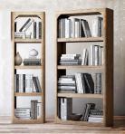 现代实木书架书籍组合3D模型下载-[ID]19260