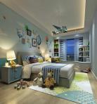 现代风格儿童房 (13)3d模型免费下载
