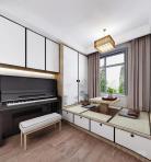 新中式榻榻米琴房443D模型下载-[ID]40429