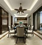 新中式餐厅酒柜3D模型下载-[ID]44805