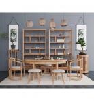 新中式茶室桌椅3D模型下载-[ID]45204