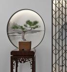 新中式松树植物盆栽装饰摆件3D模型下载-[ID]45251