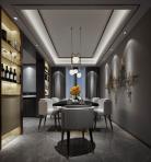 现代风格整体家装餐厅空间3D模型下载-[ID]49361