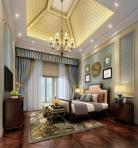 美式风格整体家装卧室空间主卧室3D模型下载-[ID]49564