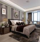 轻奢风格整体家装卧室空间主卧室3D模型下载-[ID]49610