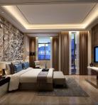轻奢风格整体家装卧室空间主卧室3D模型下载-[ID]49613
