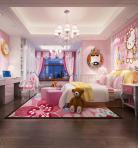 现代风格整体家装卧室空间儿童房3D模型下载-[ID]49788