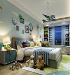 现代风格整体家装卧室空间儿童房3D模型下载-[ID]49798