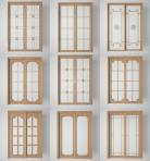 3D厨房阳台玻璃门组合3D模型下载-[ID]51175