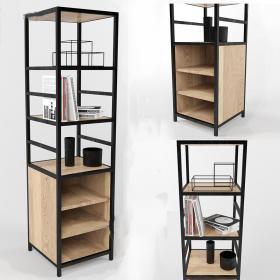 工业风格装饰柜3d模型免费下载