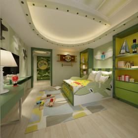 现代风格儿童房 (5)3d模型免费下载