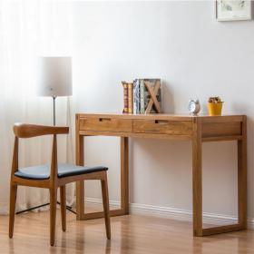 纯木简约书桌椅  (2)3d模型免费下载