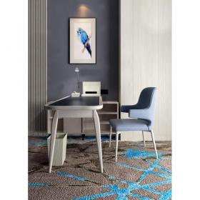 北欧书桌椅组合3d模型免费下载