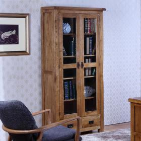 实木书柜3d模型免费下载