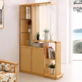现代书柜玄关柜3d模型免费下载