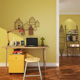 现代实木书桌椅 (2)3d模型免费下载