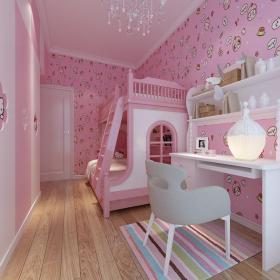 欧式公主风女儿房 (3)3d模型免费下载