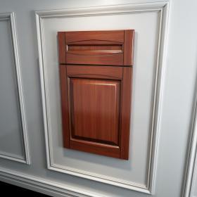 橱柜衣柜实木起拱门板原创3d模型免费下载