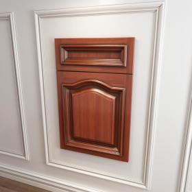 橱柜衣柜实木起拱门板门型原创3d模型免费下载