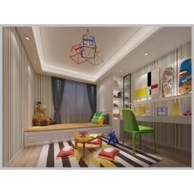 现代儿童房3d模型免费下载