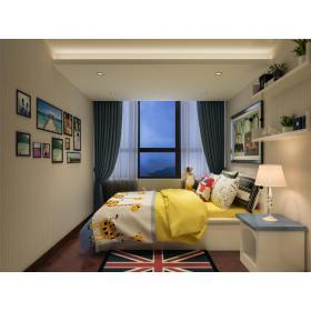 卧室小孩房3d模型免费下载