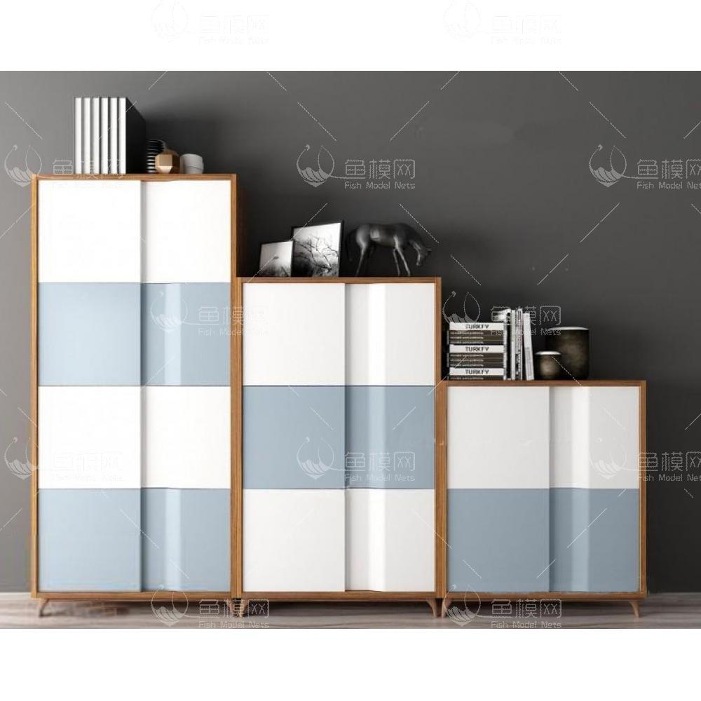 边柜组合3d模型