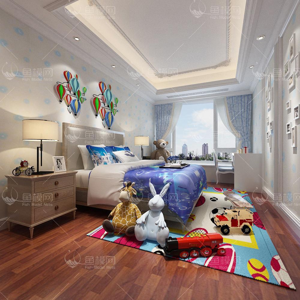 儿童房23d模型