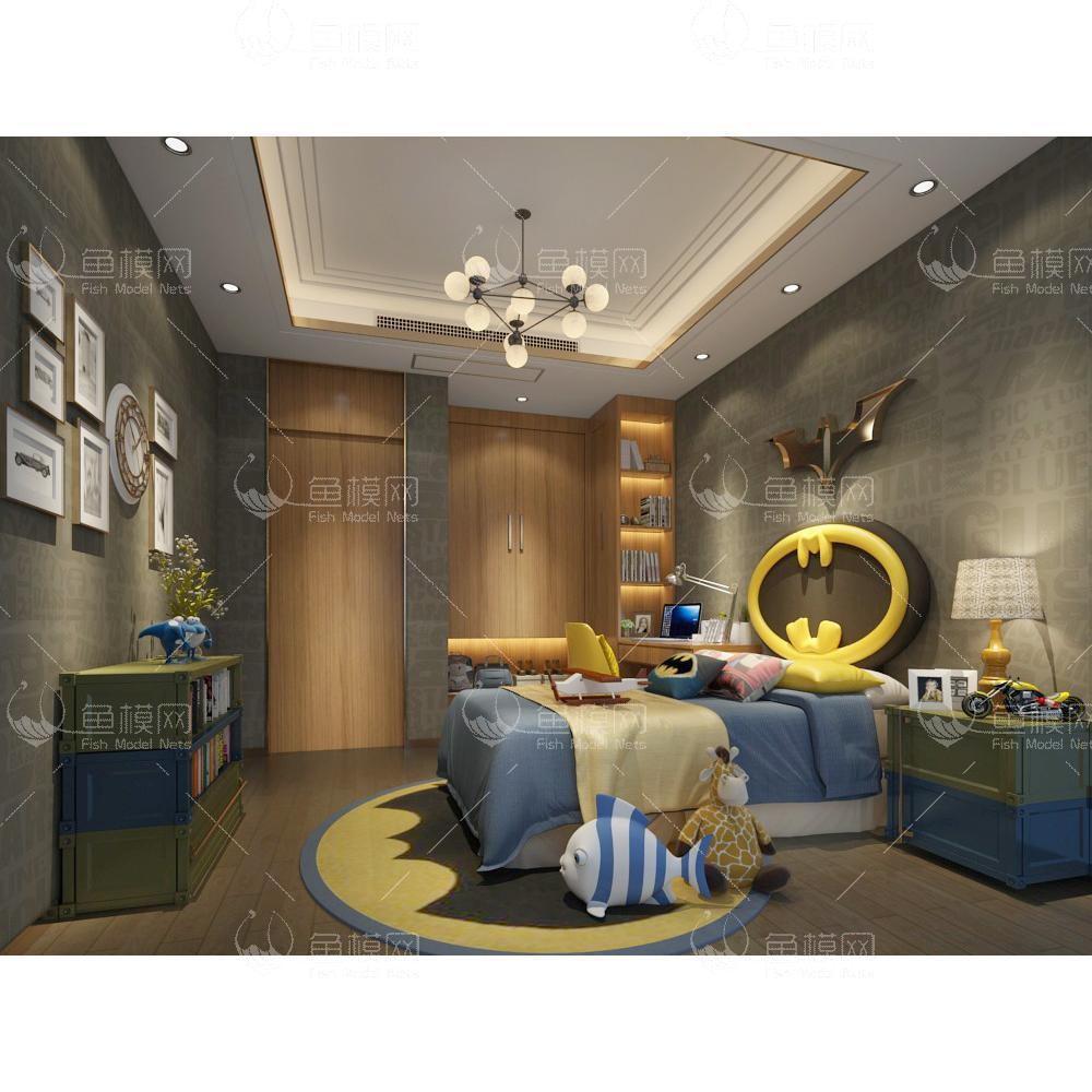儿童房 (1)3d模型