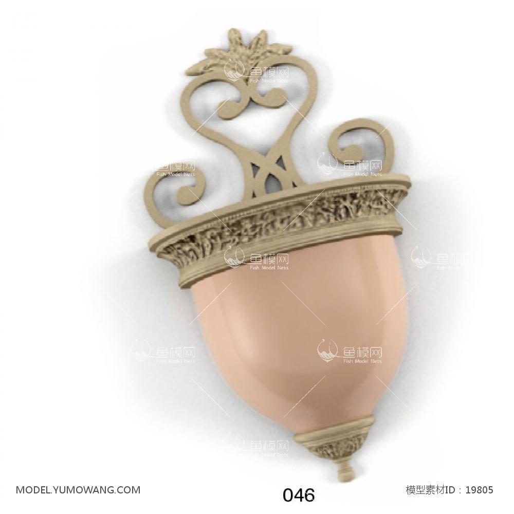 壁灯 (13)3d模型