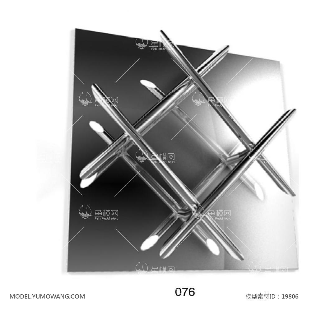 壁灯 (14)3d模型