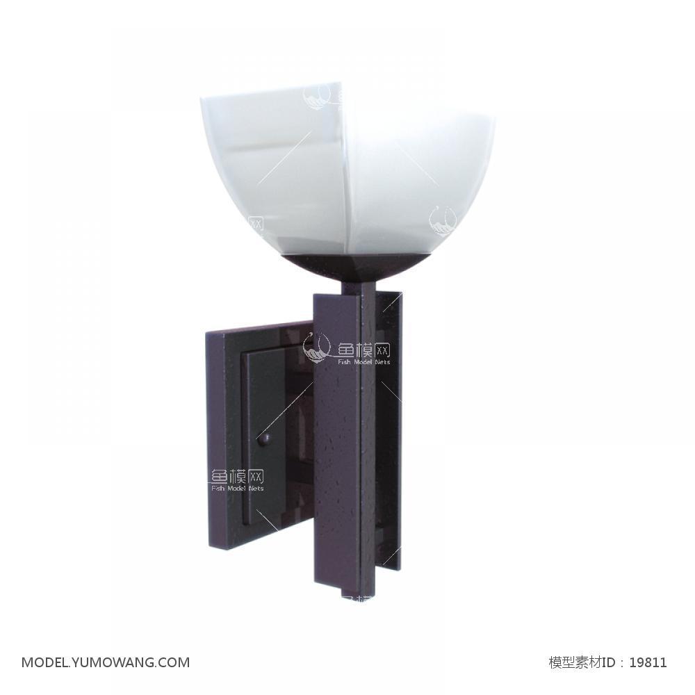 壁灯 (25)3d模型