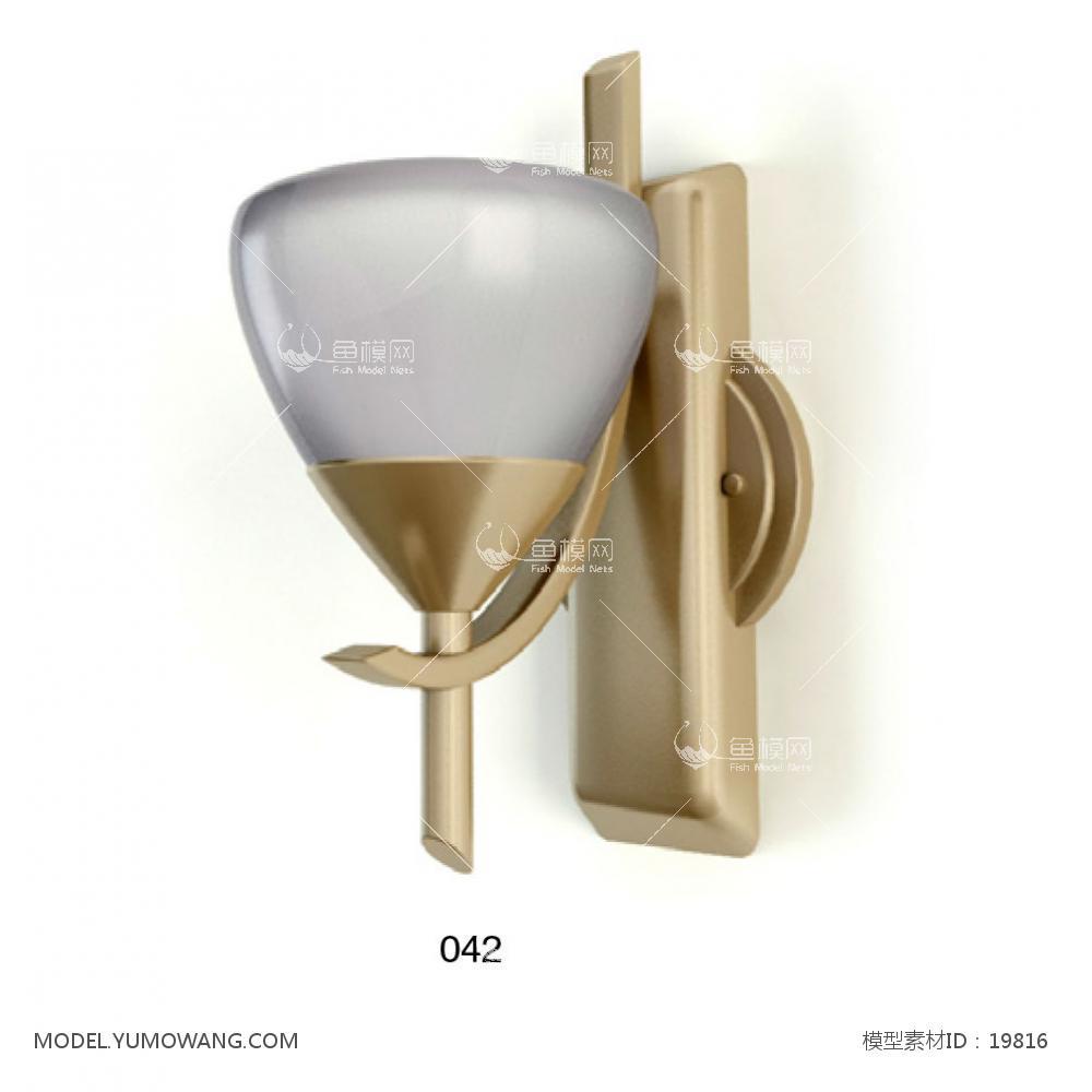 壁灯 (3)3D模型下载-[ID]19816