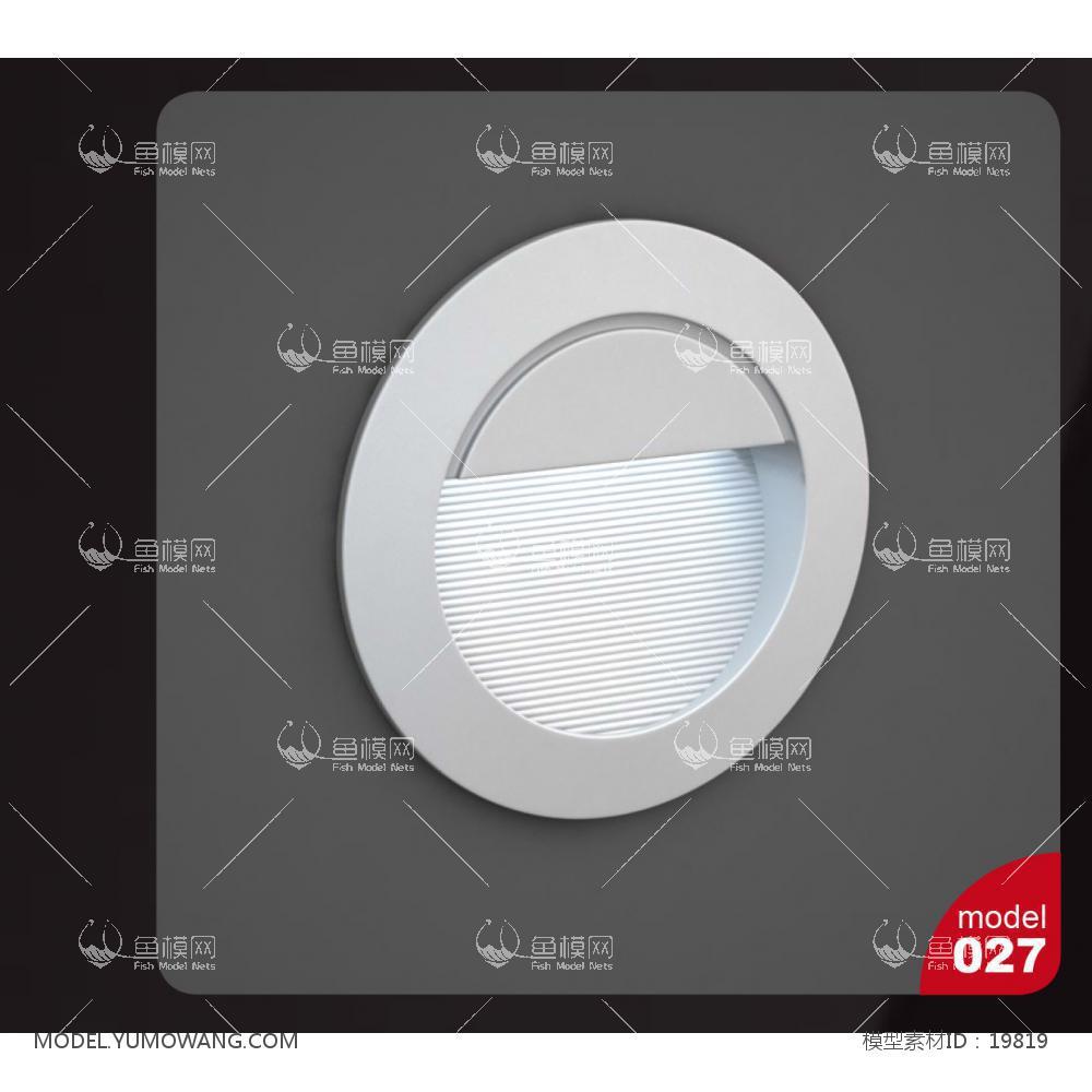 壁灯 (6)3d模型
