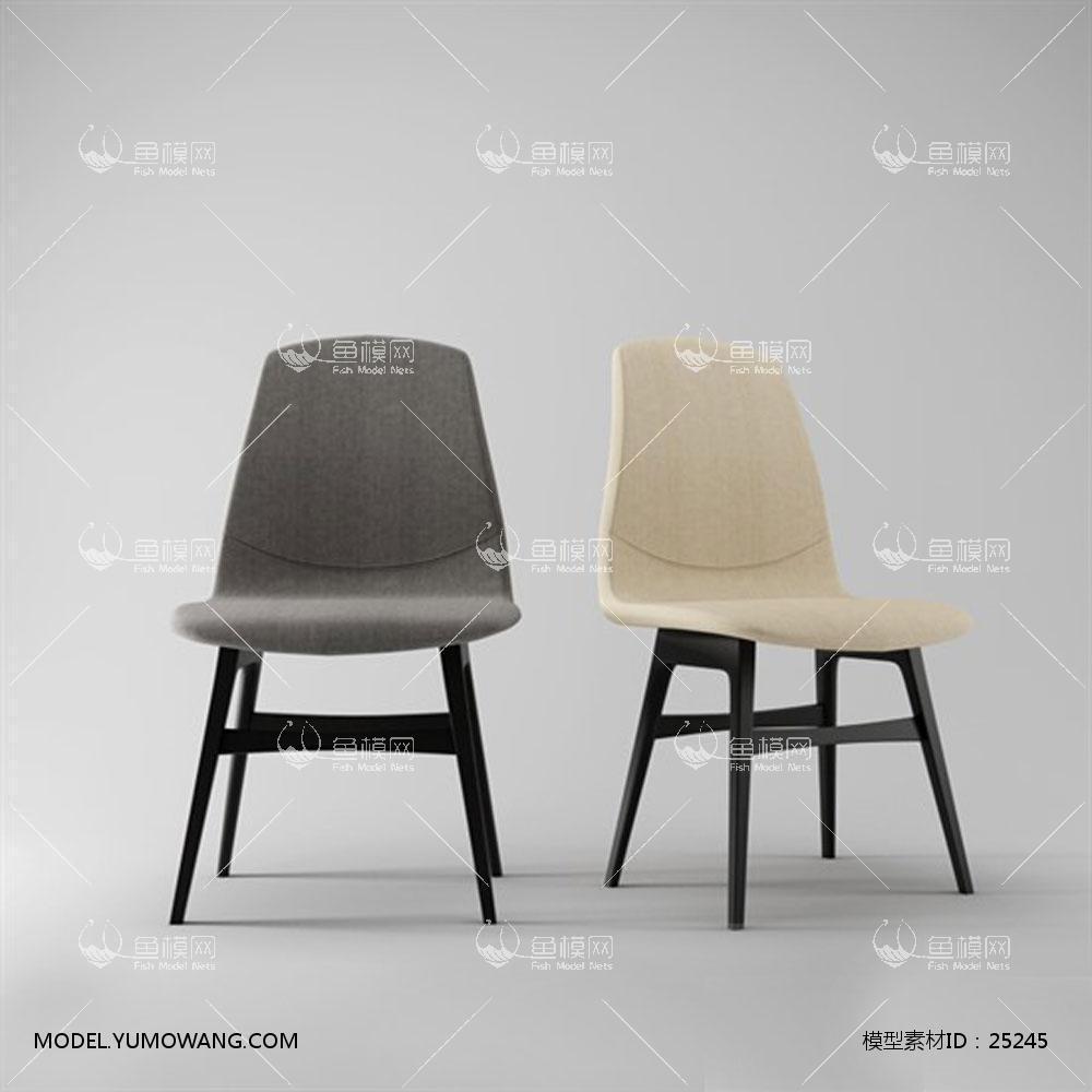 现代风格椅子 (19)3d模型