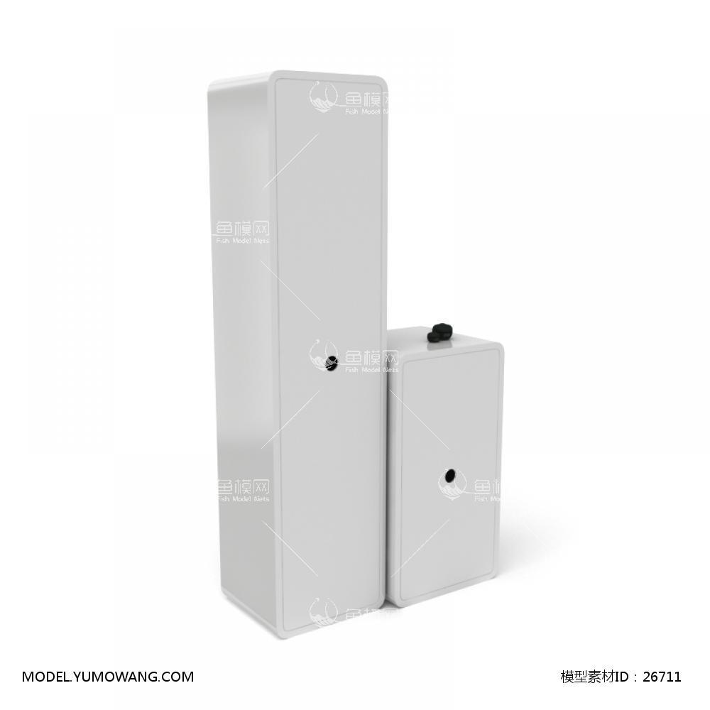 浴柜 (11)3d模型