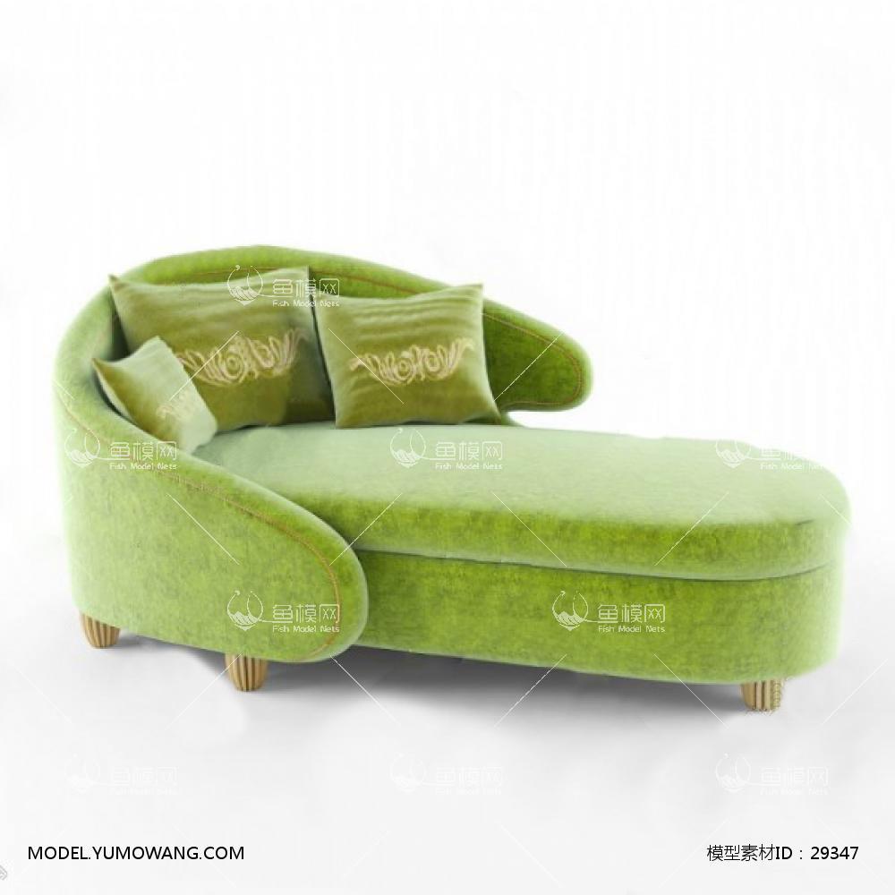 沙发躺椅3d模型