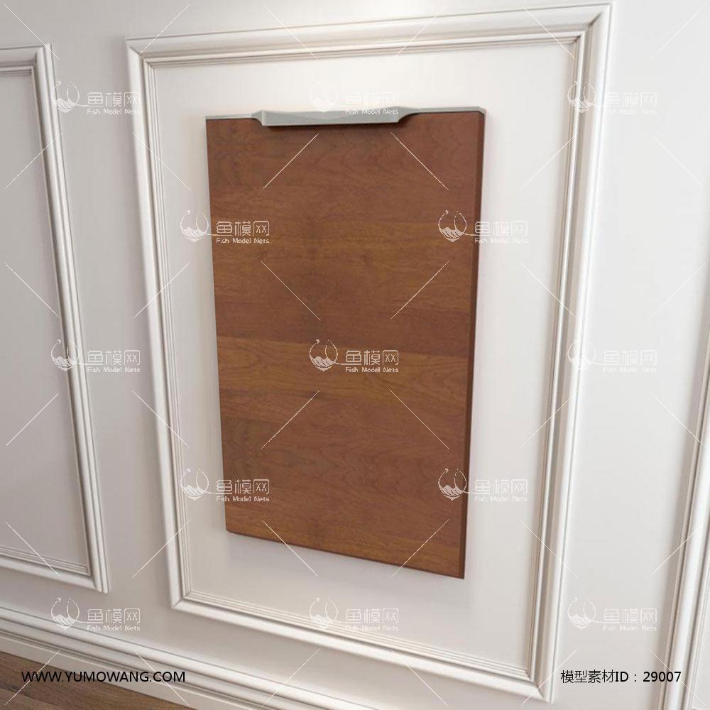 现代风格橱柜门板3D模型下载-[ID]29007