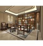 新中式温馨舒适的书房 (3)3D模型下载-[ID]19794