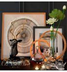 陈设饰品 现代雕塑装饰画花瓶花卉组合3D模型下载-[ID]24755